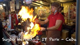 Sugbo Mercado IT Park - Food Tour - Cebu City Vlog