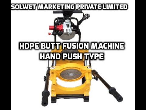 Manual Four Clamp 50 to 200mm HDPE Butt Fusion Welding Jointing Machine
