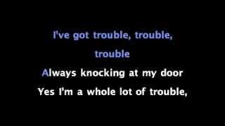 I Got Trouble by Christina Aguilera Karaoke