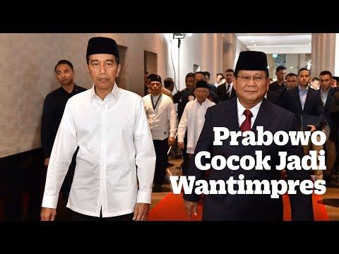Prabowo Cocok Jadi Wantimpres