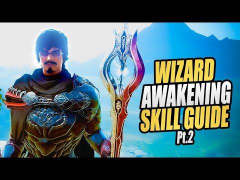 Black Desert Online: Starting rotation for awakening Wizard