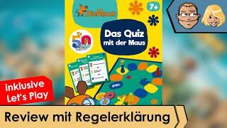 Das Quiz mit der Maus - Brettspiel - Review und Regelerklärung
