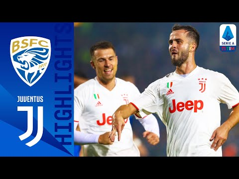 Brescia 1-2 Juventus   Pjanić hits winner as Serie A champions win to go top!   Serie A