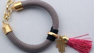Βραχιόλια με Κορδόνι - Κολιέ με Κορδόνι - Χειροποίητα Κοσμήματα - Bracelets, Necklaces with cord