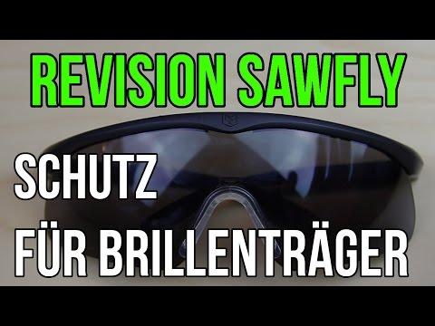 Airsoftschutzbrille für Brillenträger - Revision Sawfly Review - Schutzbrille Airsoft GSPAirsoft