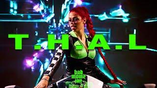 Musik-Video-Miniaturansicht zu T.H.A.L Songtext von badmómzjay