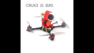 #Crux3 1S 3inch ELRS FPV Racing Drone test video with #CaddxFPV Peanut