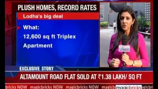 Bhilosa chief buys triplex at Lodha Altamount for Rs 172 cr - The Property News