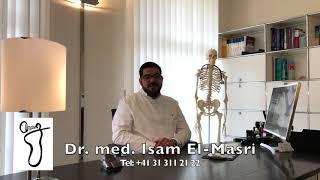 Dr  med  Isam El Masri Fuss Praxis #Bern