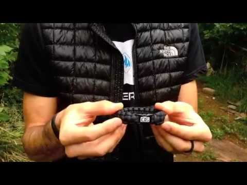 How to Open a Paracord Bracelet