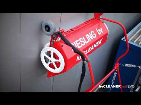 Fassadenreinigung mit hyCLEANER® red EVO I und EVO III