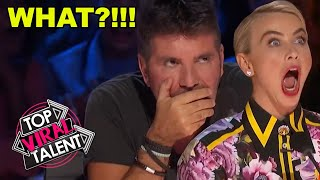 WHAT JUST HAPPENED?! SIMON CAN'T WATCH! 6 AUDITIONS YOU DON'T WANT TO MISS!
