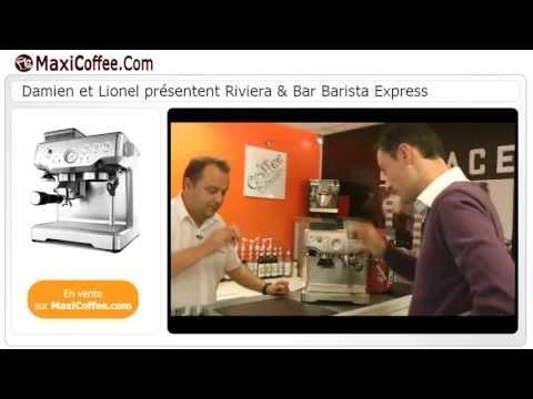 Riviera & Bar Barista Express | Machine expresso compacte | Le Test MaxiCoffee