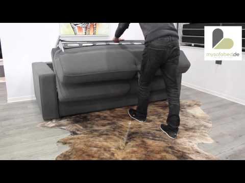 Schlafsofa mit MATRATZE - DAUERSCHLÄFER Chicago von sofaplus - mysofabed.de