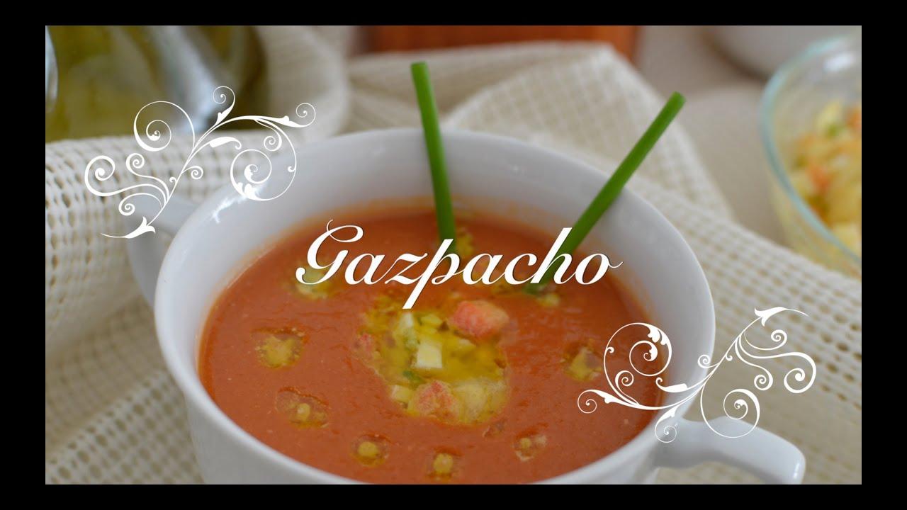 Gazpacho con Thermomix | Gazpacho Thermomix | Receta Gazpacho Thermomix