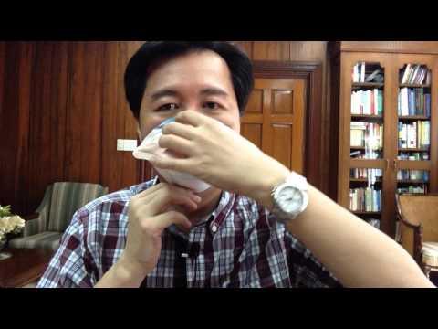 Aalaga para sa kumbinasyon ng balat face mask