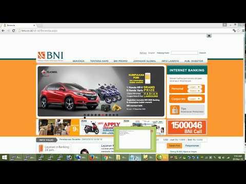 Cara Bayar Tiket Kereta Api via BNI Internet Banking