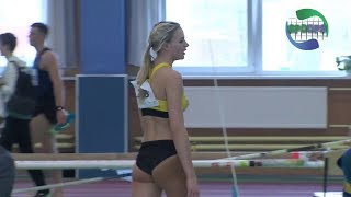 Lithuanian athletics indoor championships 2018 | 60 60H 400 Long and Triple Jump Women | ᴴᴰ