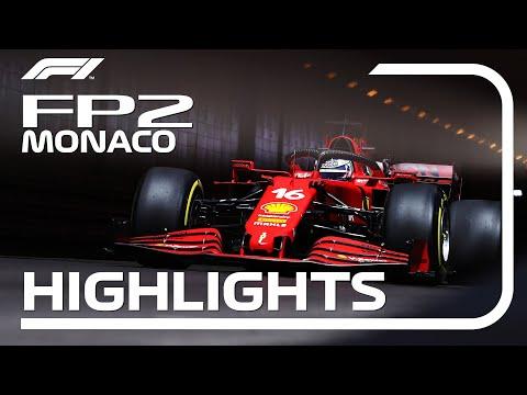 ルクレールが1番手 F1モナコGP フリー走行2のハイライト動画