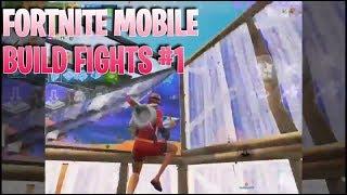 Fortnite Mobile Build Fights Compilation