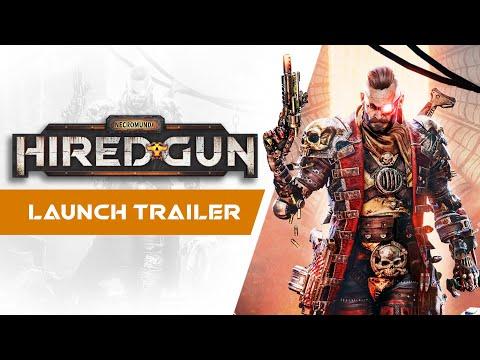 Launch Trailer de Necromunda: Hired Gun