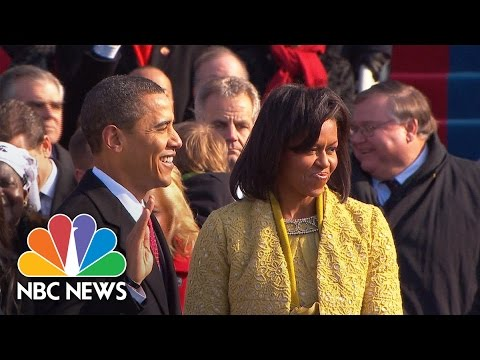 Inaugural Swearing In 101: What It Takes To Swear In A President   NBC News