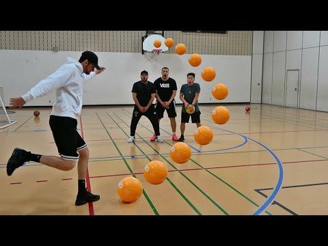 IMPOSSIBLE SOCCER TRICK SHOTS (видео)