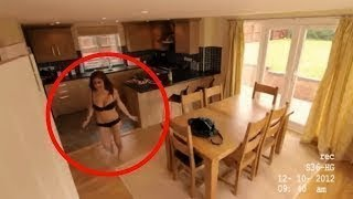 THIS MAID WAS NOT KNOW THAT THERE WERE CAMERAS IN THE PLACE.. LOOK WHAT SHE DID !!