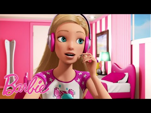 Bavarder Sur Internet 📡 Dessins animés de Barbie 💖Barbie France