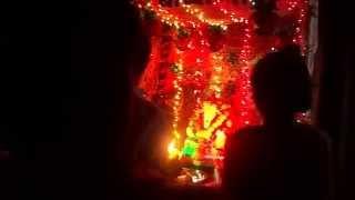 preview picture of video 'My Home Ganapati Bappa Arati - 2013'