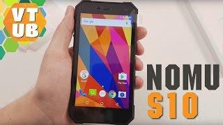 Смартфон Nomu S10 2/16 Black от компании Cthp - видео 2