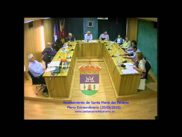 Pleno Extraordinario (20/05/2015)
