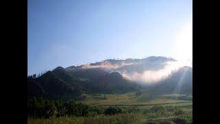 Поездка на Алтай - часть 7 - Утро в горах - отпуск 2017 июль