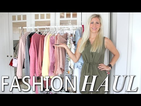 XXL FASHION HAUL Frühling/Sommer 2017 I Neueste Trends I Asos, Zalando, Bershka, SheIn I TEIL 2