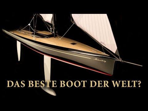 Speed + Design + Zuverlässigkeit. Wir glauben, es ist das beste Modellsegelboot der Welt.