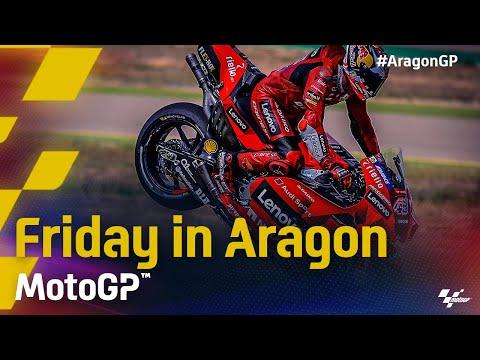 MotoGP 2021 第13戦アラゴンGP フリー走行ハイライト動画