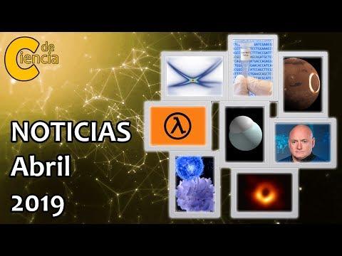 Noticias científicas abril 2019