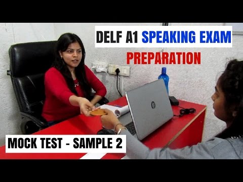 FRENCH - DELF A1 Production Orale - Speaking Exam Preparation ...