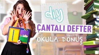 KENDİN YAP ÇANTALI DEFTER   OKULA DÖNÜŞ   BACK TO SCHOOL 2018
