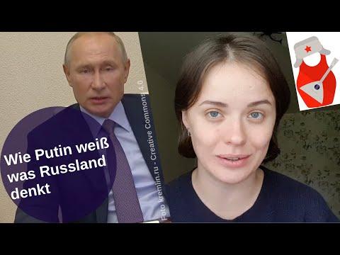 Wie Putin weiß was Russland denkt [Video]