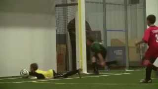 Riley -- soccer goalkeeper, 2011-12 indoor season