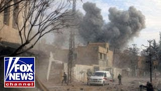 US troops clash with Syrian government forces - Video Youtube