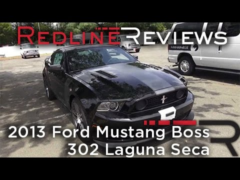 2013 Ford Mustang Boss 302 Laguna Seca Walkaround, Exhaust, Review
