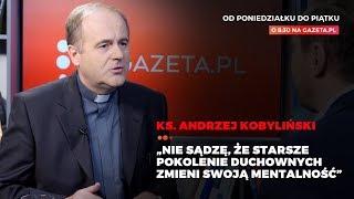 Ksiądz Kobyliński o filmie Sekielskiego i ostro o sytuacji w polskim kościele.