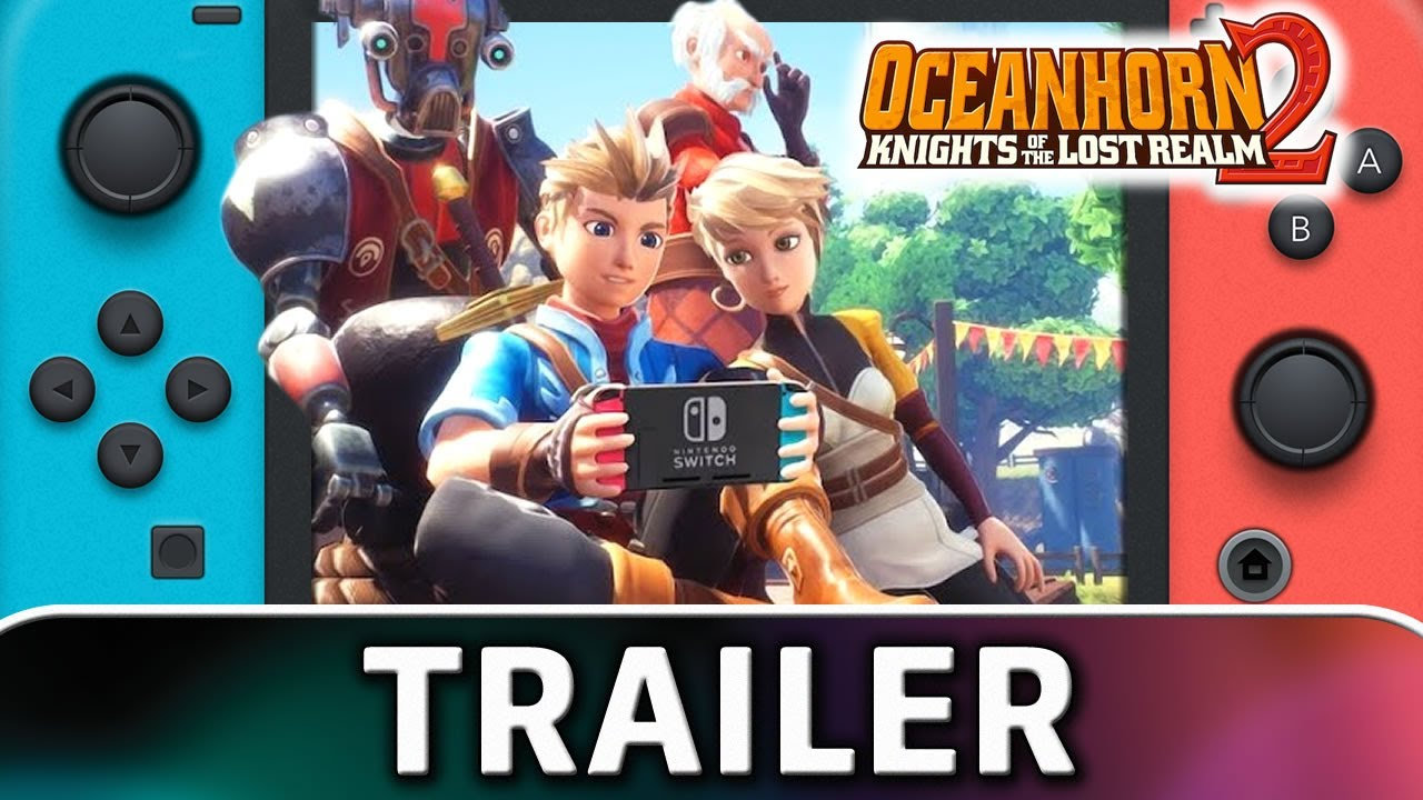 Oceanhorn 2: Knights of the Lost Realm | Nintendo Switch Trailer