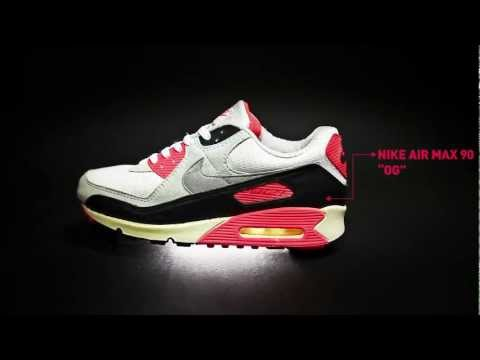The Evolution of Nike Air Max 90 Infrared by AFEW STORE