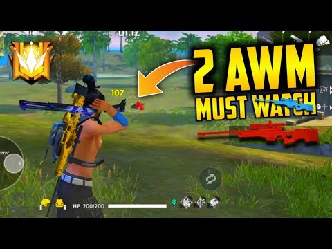 2 AWM Best Gameplay Ever Must Watch - Garena Free Fire- Total Gaming