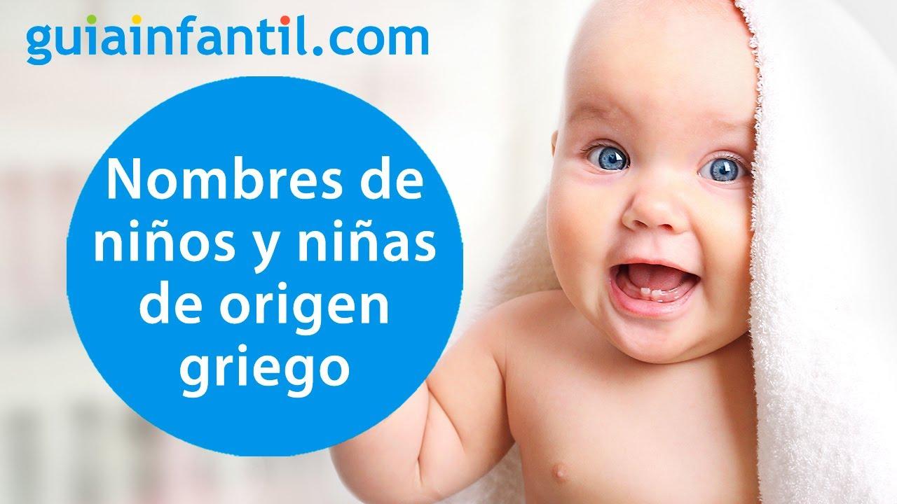 15 nombres para niños y niñas de origen griego, que querrás para tu bebé | Significado de nombres