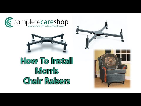 Morris Chair Raisers Installation Guide