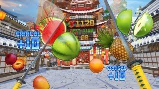 היישר מהטלפון, Fruit Ninja מגיע למציאות מדומה!